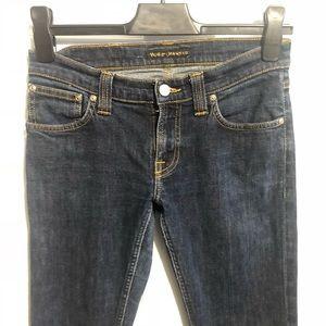 Womens Nudie Jeans Tight Long John Skinny Size 27